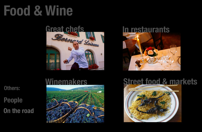 Food & wine portfolios